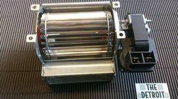 Dwarsstroom ventilator 60x90. Rechtse motor