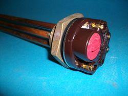 Dompelweerstand 1500W-230V met thermostaat