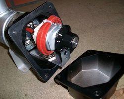 Doorstroomelement 3Kw-230/400V voor olie