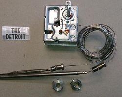 Ego 3-polige thermostaat 135 - 180 °C met veiligheid